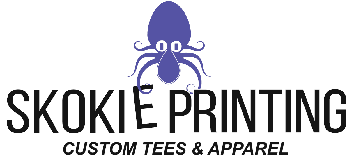 skokie squid skokie printing logo